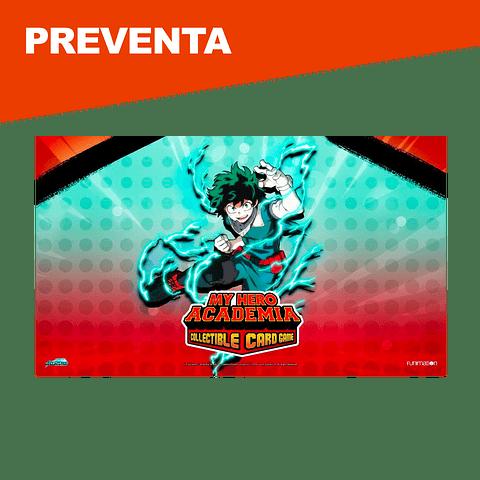 Preventa: Izuku Midoriya Playmat - My Hero Academia Collectible Card Game