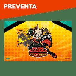 Preventa: Katsuki Bakugo Playmat - My Hero Academia Collectible Card Game