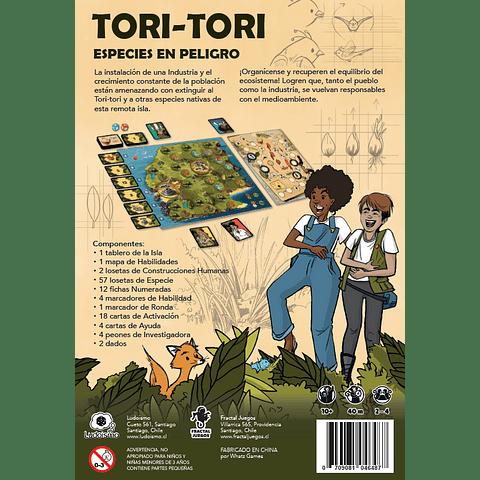 Preventa: Tori Tori - Especies en Peligro