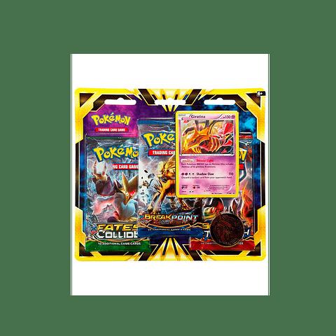 Pokémon Tcg: Giratina 3 booster Blister