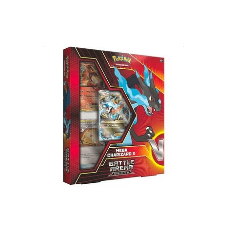 Pokémon TCG Battle Arena Deck-Mega Charizard X