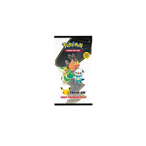 Pokemon: First Partner Pack (Unova) 25º Aniversario