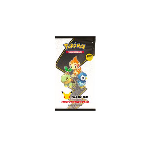 Pokemon: First Partner Pack ( Sinnoh ) 25º Aniversario