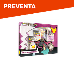 Preventa: Pokemon Celebrations Dragapult Prime Collection - Inglés