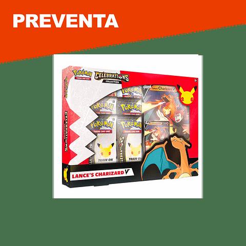 Preventa: Pokemon Celebrations Lance's Charizard V Collection - Inglés
