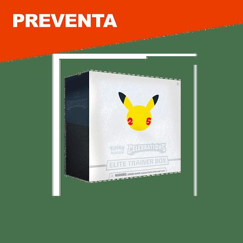 Preventa: Pokemon Celebrations Elite Trainer Box - Inglés