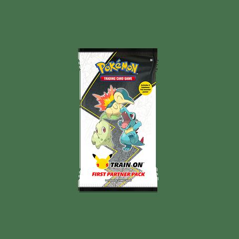 Pokémon: First Partner Pack (Johto) 25º Aniversario