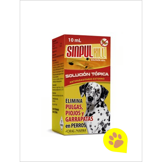 Sinpukill Perros - Solución Tópica 10 ml