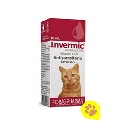 Invermic Gato - Antiparasitario Interno