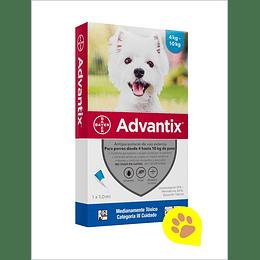 Advantix Pipeta 4 - 10 Kg