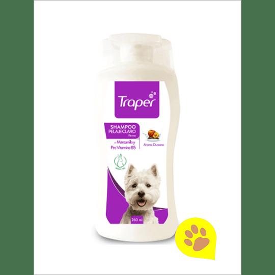 Traper Shampoo Pelaje Claro 260 ml
