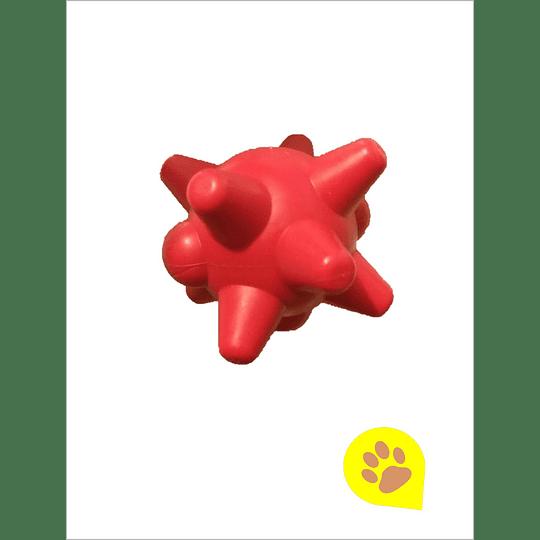 Juguete Pelota con Puntas Rojo