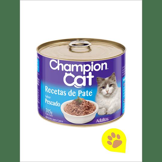 Lata Champion Cat Pescado 315 Gr