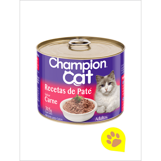 Lata Champion Cat Carne 315 Gr