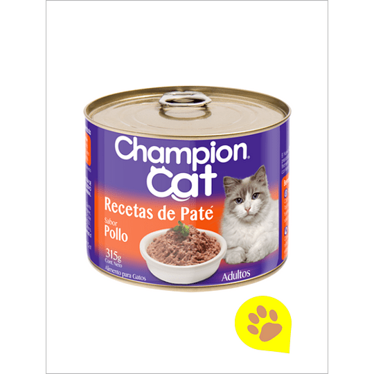 Lata Champion Cat Pollo 315 Gr