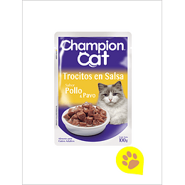 Champion Cat Sachet Pollo
