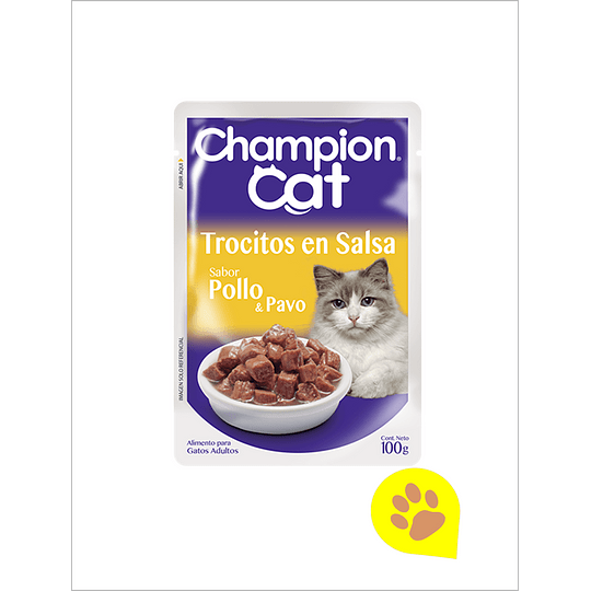 Champion Cat Sachet Pollo