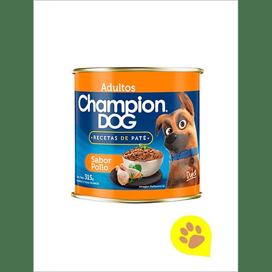 Lata Champion Dog Pollo 315 Gr