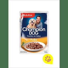 Champion Sachet Trocitos Pollo