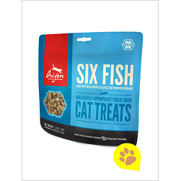 Orijen Treats Six Fish Gato 35 Gr
