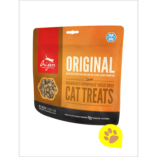 Orijen Treats Original Gato 35 Gr