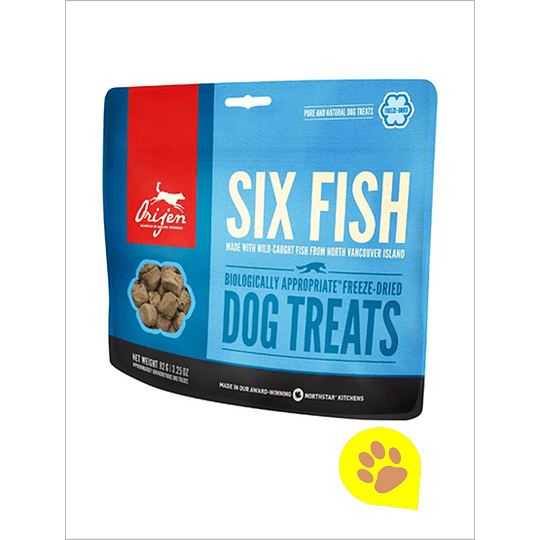 Orijen Treats Six Fish Perro 42,5 Gr