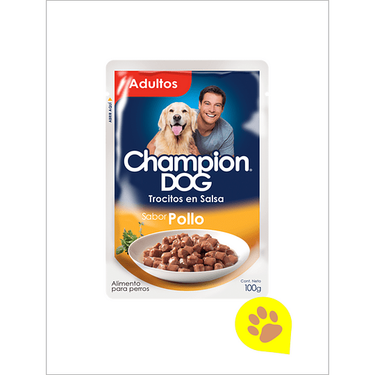 Champion Sachet Trocitos Pollo - 1 Un