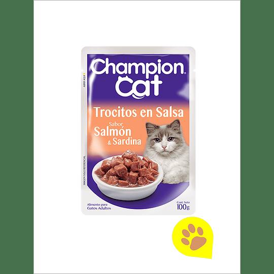 Champion Cat Sachet Salmon - 1 Un