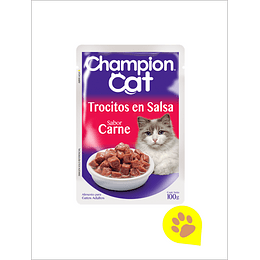 Champion Cat Sachet Carne - 1 Un