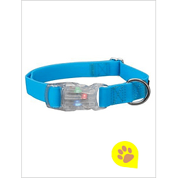 Collar Luz LED USB Azul Neon