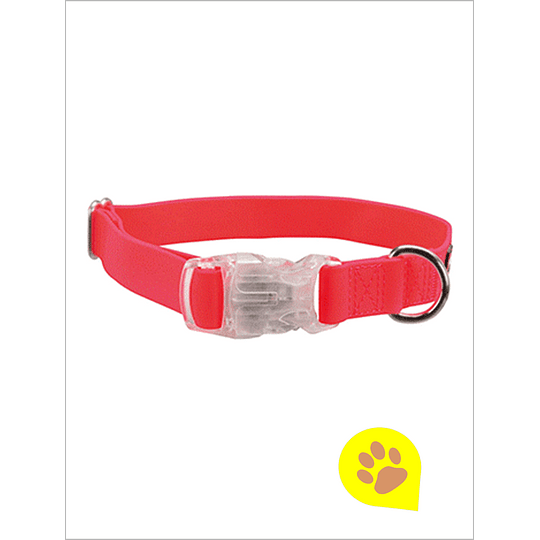 Collar Luz LED USB Rosado Neon