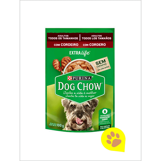 Dog Chow Sachet Cordero