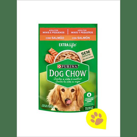 Dog Chow Sachet Salmon Raza Pequeña