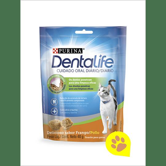 Dentalife Gatos Adultos - Sabor Frango 40 g
