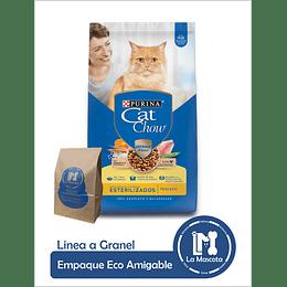 Eco - Cat Chow Esterilizados