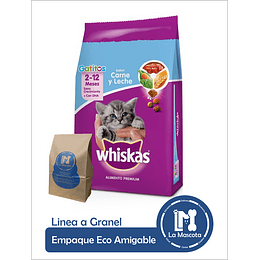 Eco - Whiskas Gatitos Carne y Leche