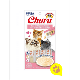 Inaba Churu Gato - Tuna con Salmon 56 G