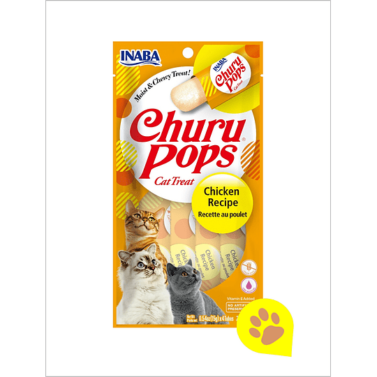 Inaba Churu Gato - Pops Pollo 56 Gr