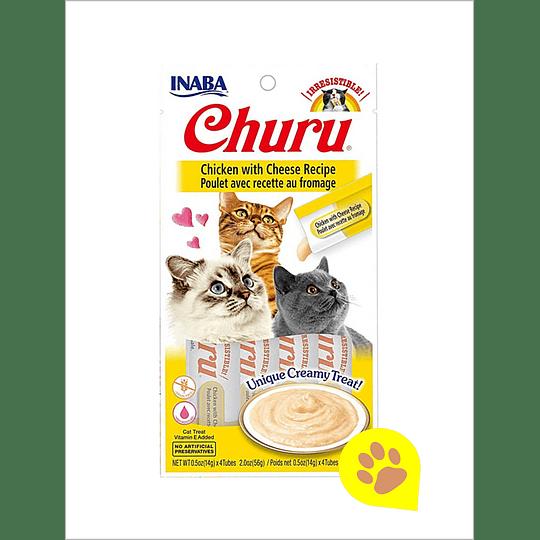 Inaba Churu Gato - Pollo con Queso 56 Gr