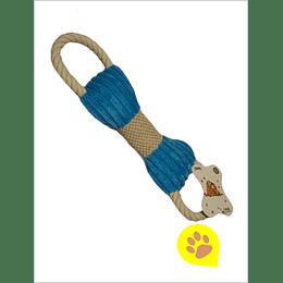 Juguete perro - peluche hueso cuerda