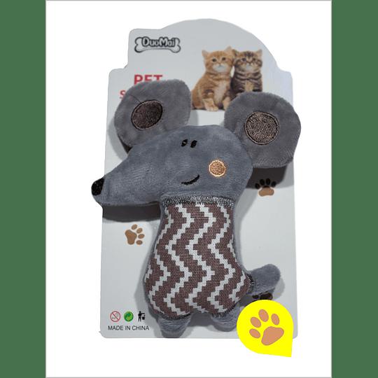 Juguete gato - peluche raton-elefante