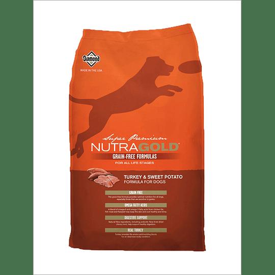 Nutra Gold Grain Free Turkey 13,6 Kg