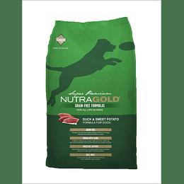 Nutra Gold Grain Free Duck 13,6 Kg