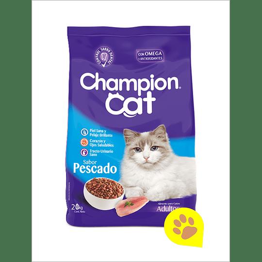 Champion Cat Pescado 20 Kg