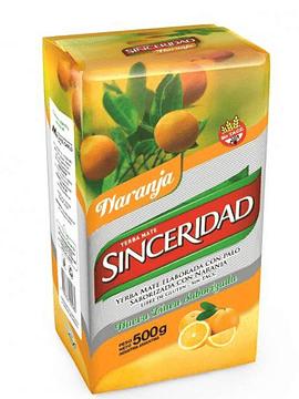 Sinceridad Naranja