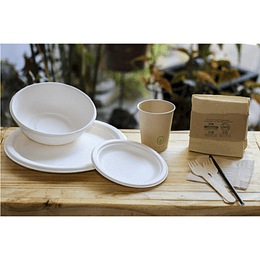Set multiproposito compostable