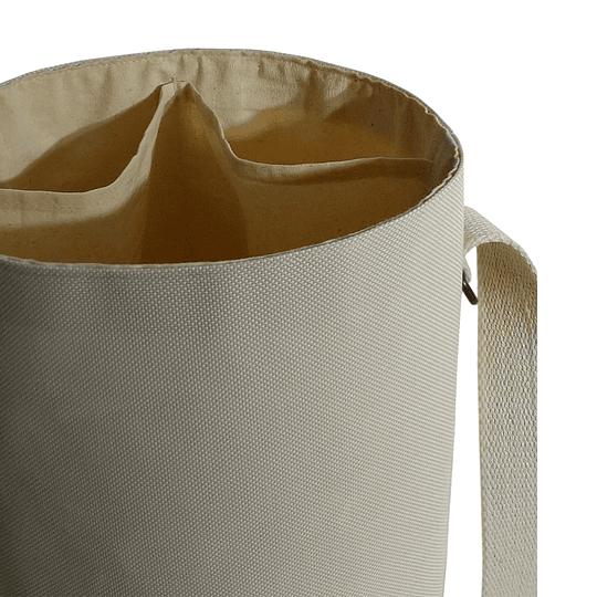 Bolso / Canasto Cortinaje Reciclado