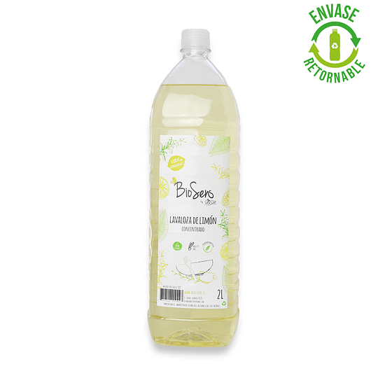 Lavaloza de Limón biodegradable