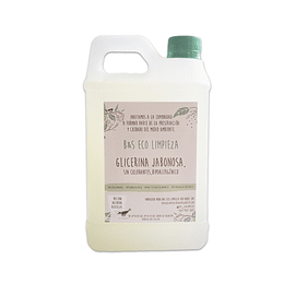 Jabón Glicerina Jabonosa 1 litro
