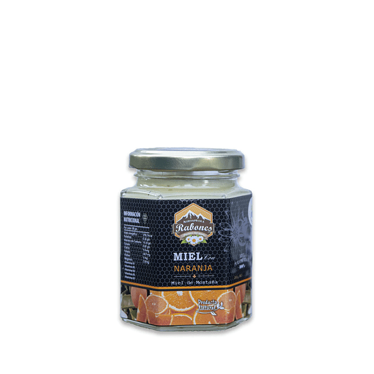 Mieles gourmet con super alimento de Naranja 220 grs